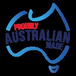 Proudly Australian Made Logo