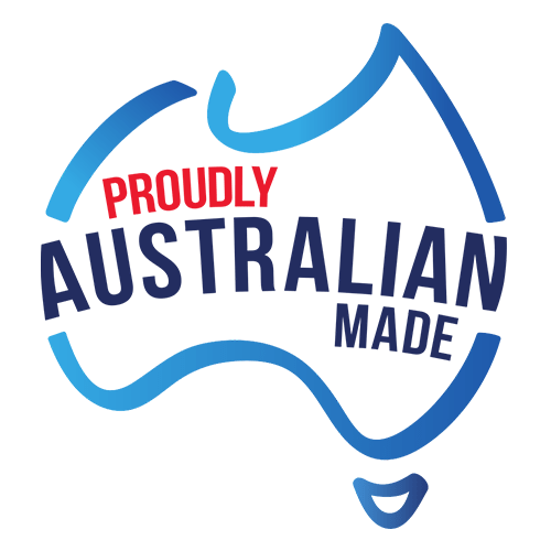 Proudly Australian Made Logo