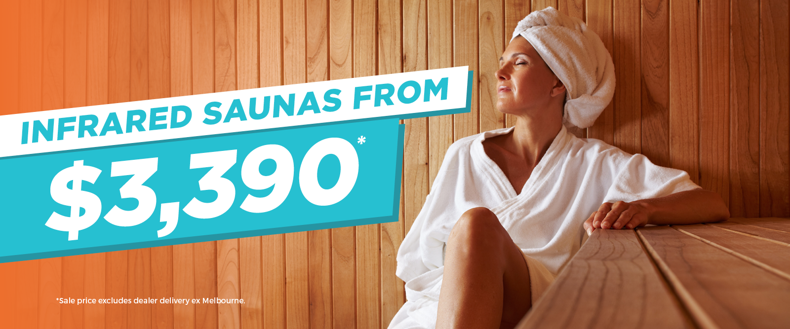 Infrared Saunas from $3390